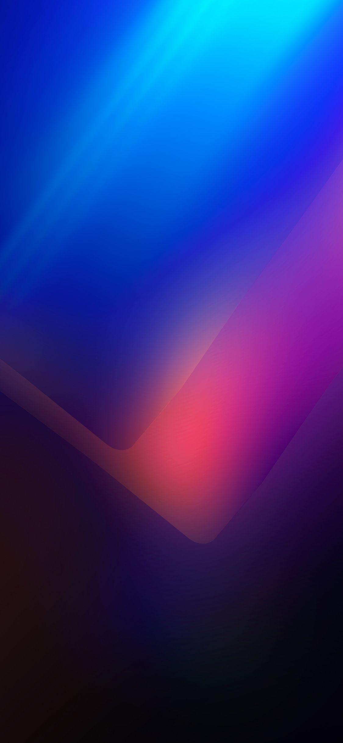 Download 1152x864 wallpaper Vibrant and vivid edge dark 1125x2436