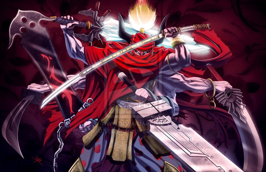Final Fantasy Gilgamesh by digitalninja 900x582