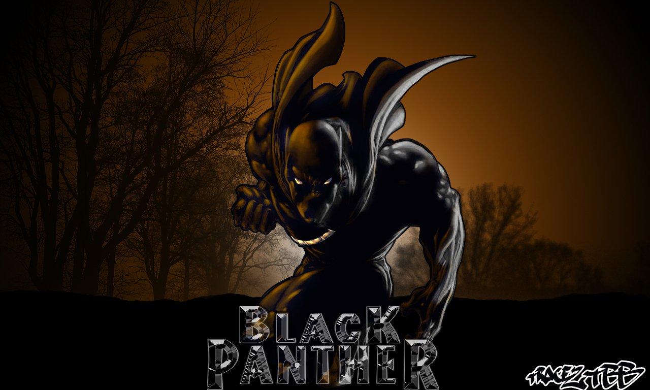 Black Panther Marvel Wallpaper 1280x768 pixel Popular HD 1280x768