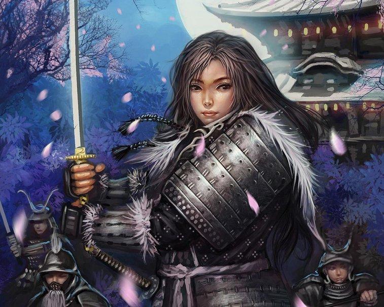 Female Samurai wallpaper   ForWallpapercom 757x606