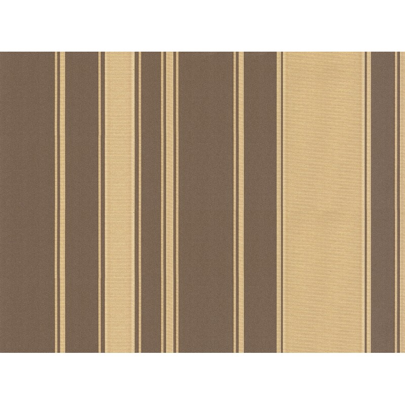 Regency Stripe Brown Gold Wallpaper from Seriano by Belgravia Decor 800x800