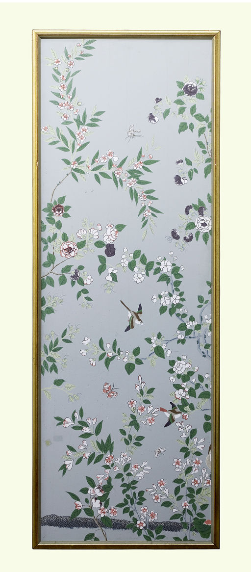 Hand Painted Chinoiserie Wallpaper Panels at 1stdibs 512x1166