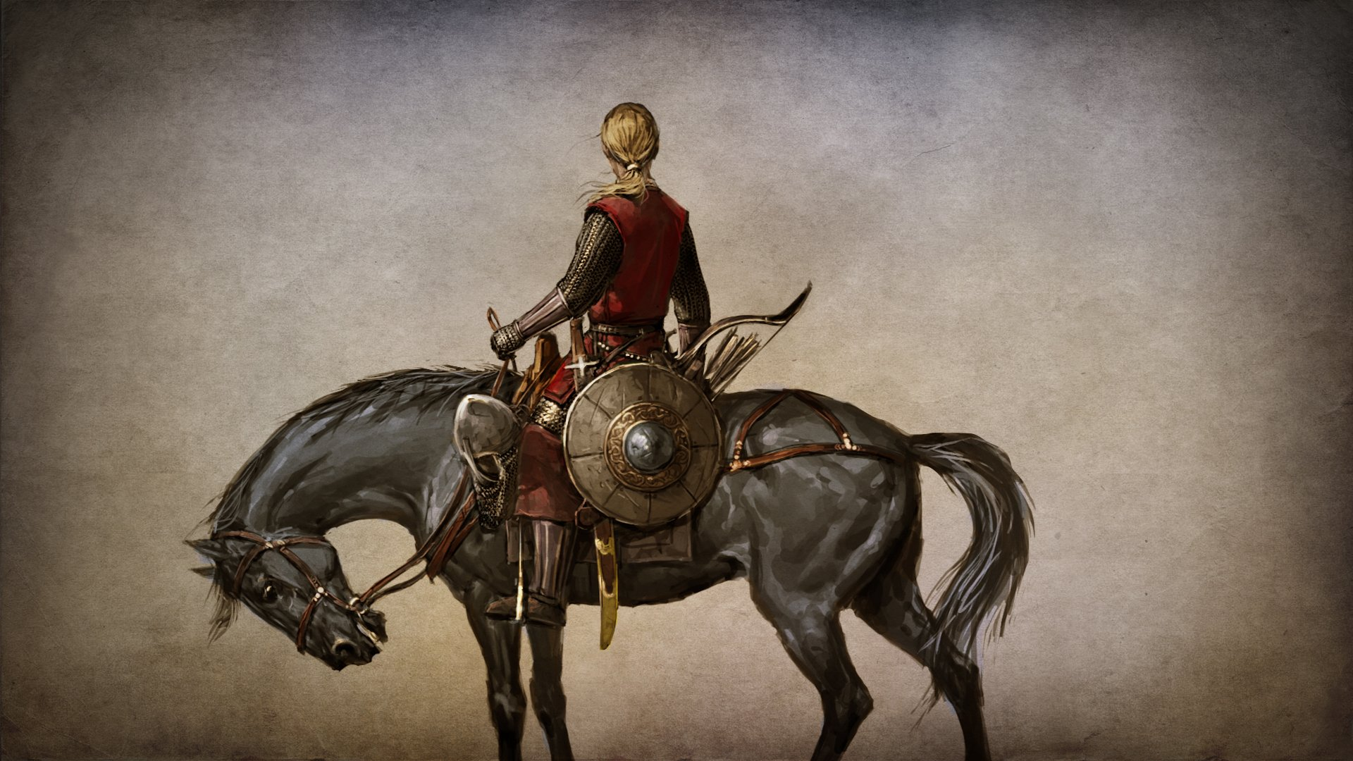 MOUNT AND BLADE fantasy warrior armor horse g wallpaper 1920x1080 1920x1080