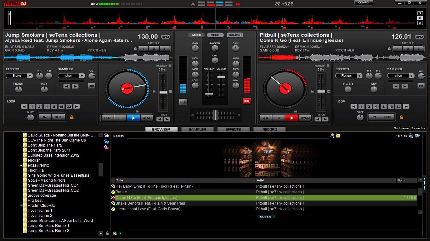 Gadgets Info Available Virtual Dj Wallpaper Download 1366x768