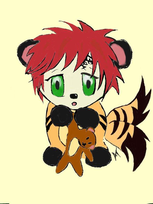 Gaara Chibi by Anime Angel 180 600x799