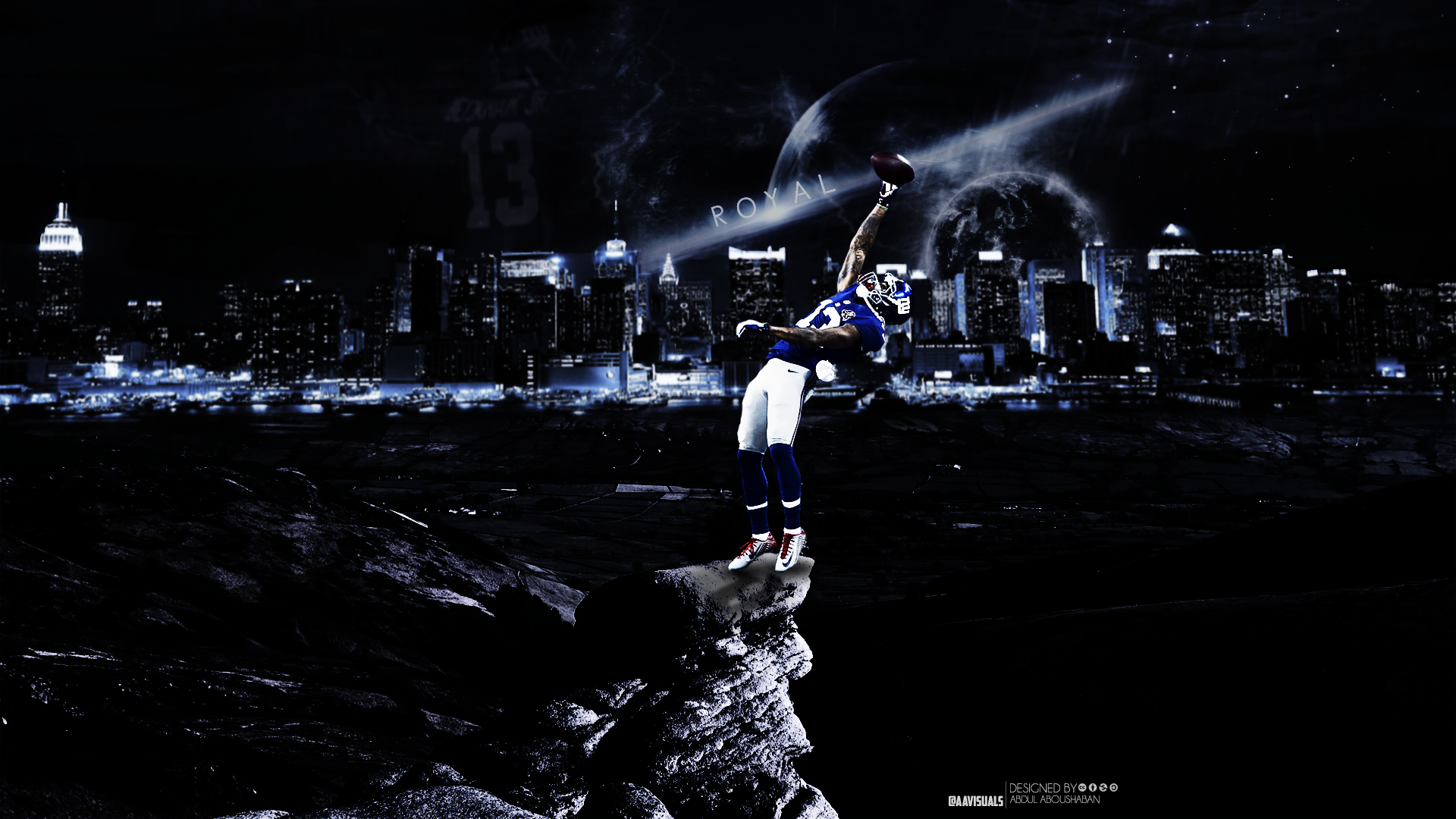 Odell Beckham Jr Wallpaper by aavisuals by aavisualsdeviantartcom 1920x1080