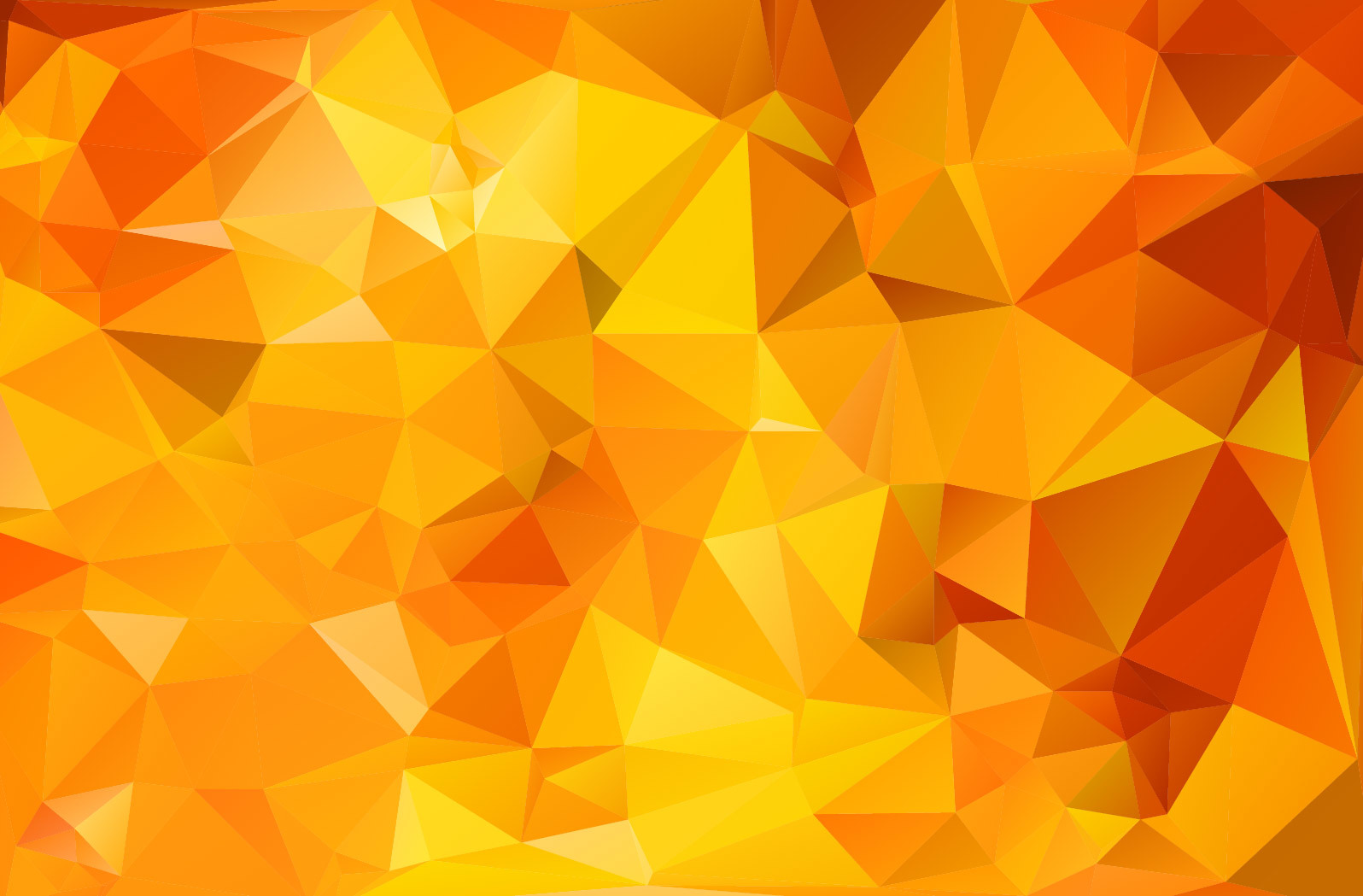download Orange Geometric Polygonal Triangle Texture Vector 1596x1049