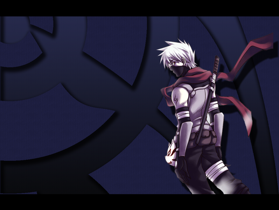 Anbu Kakashi Wallpaper by LinkSketchit 900x678