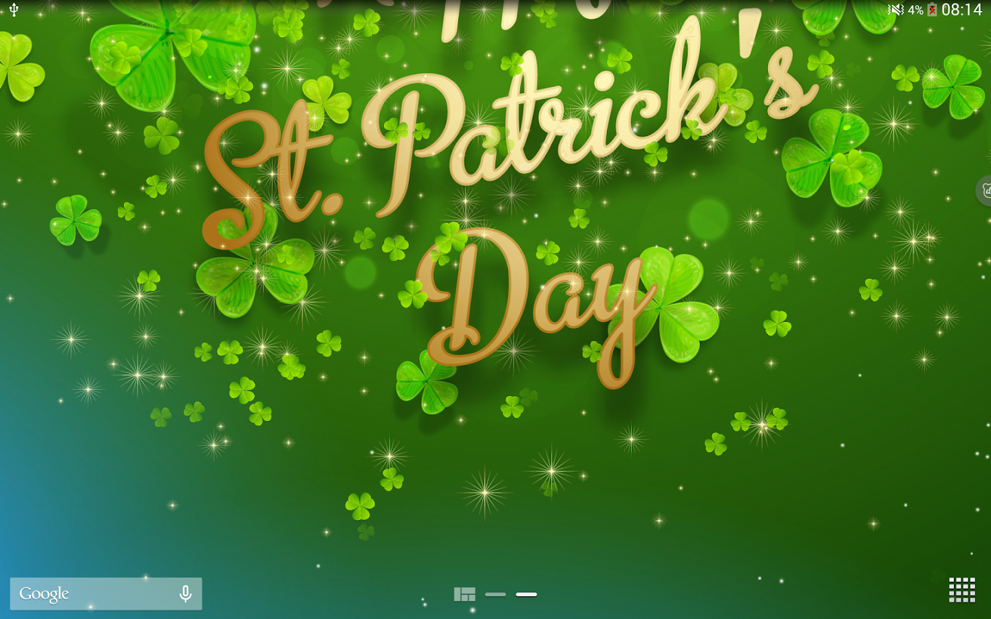 St Patricks Day Backgrounds Snowman Wallpapers 1440x900
