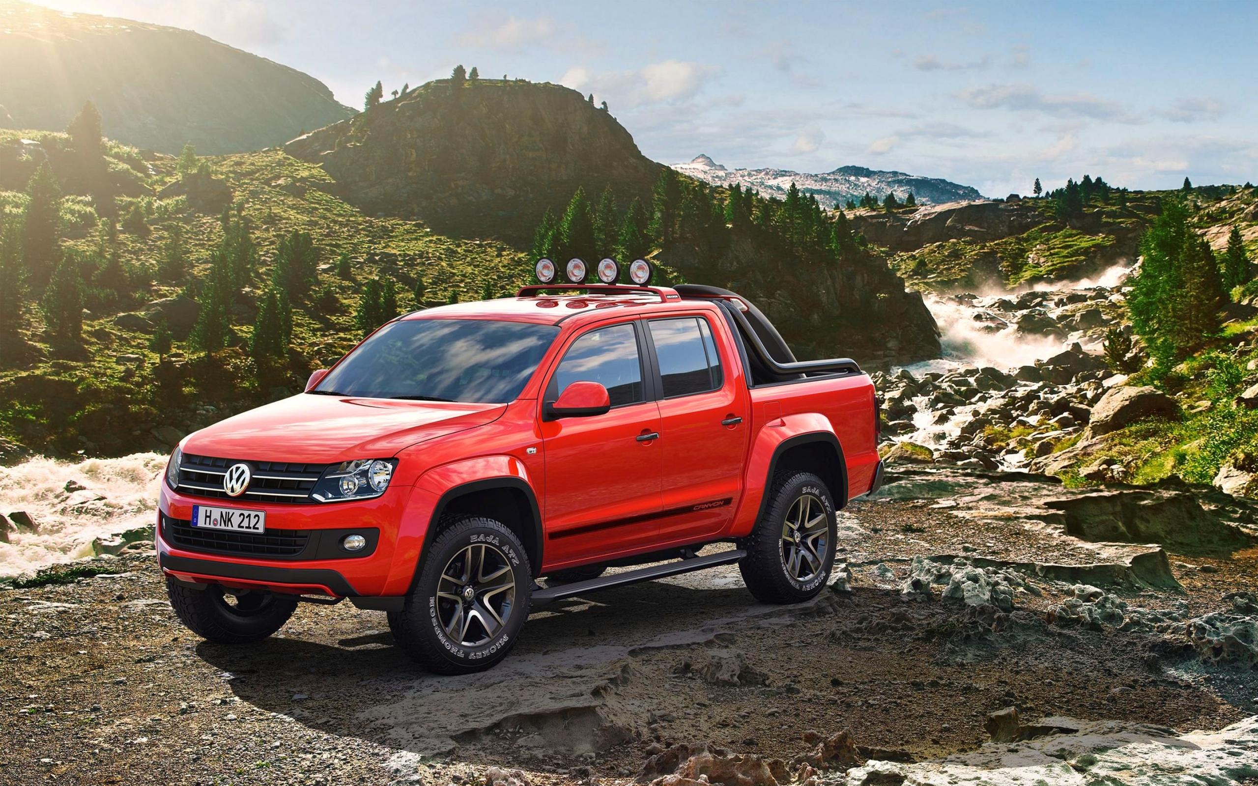 Volkswagen Amarok Canyon wallpapers 2560x1600