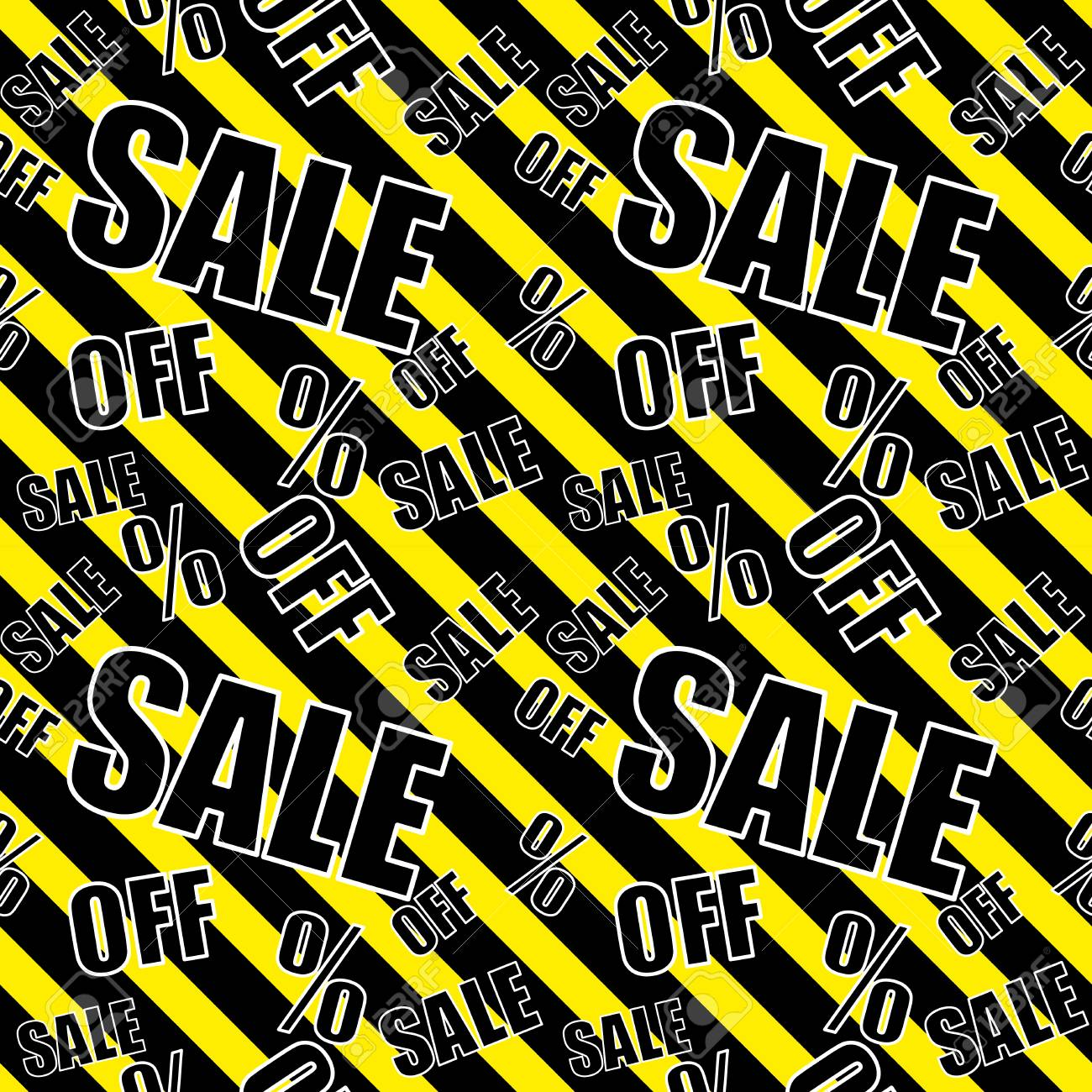 Sale Background Black Black And Yellow Color Closeout Seamless 1300x1300