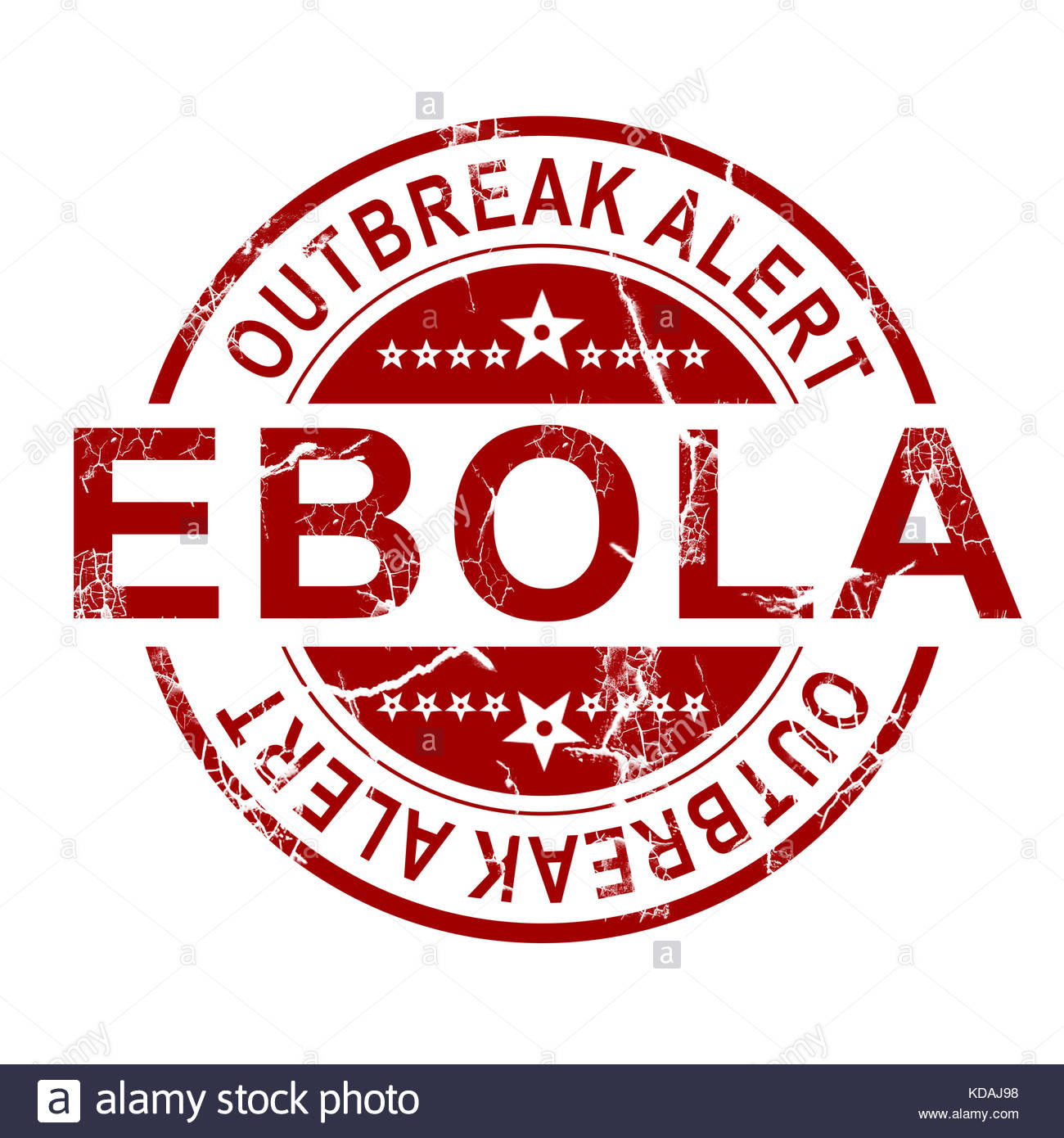 Ebola stamp with white background 3D rendering Stock Photo 1300x1390
