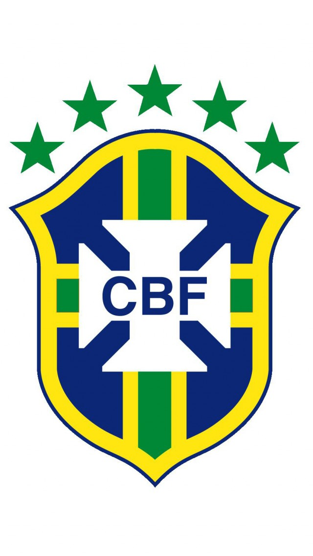 Brazil soccer team logo iPhone 5S Wallpaper iPhone 5s Wallpapers and 640x1136