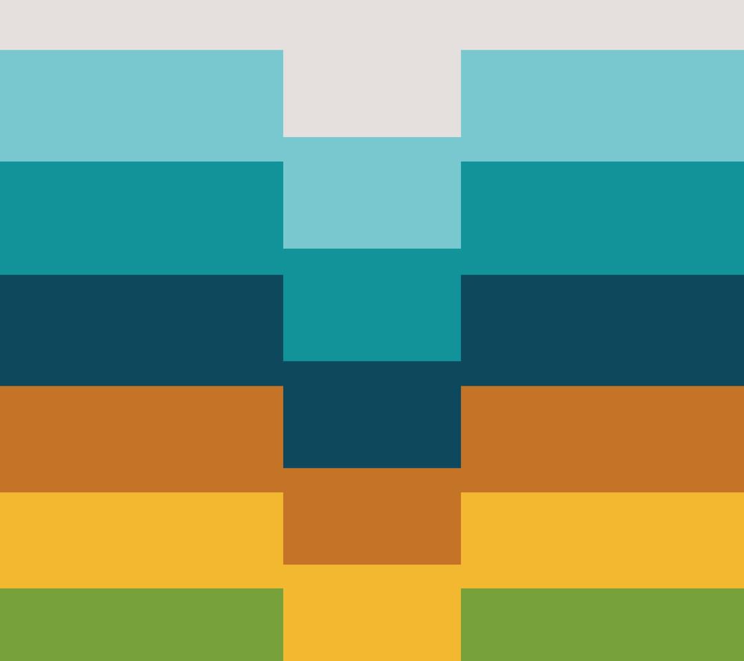 Pastel horizontal stripes Wallpaper 1080x960