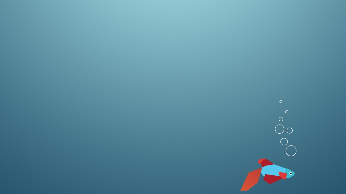 1366x768 Windows 8 Fish Logo desktop PC and Mac wallpaper 1366x768
