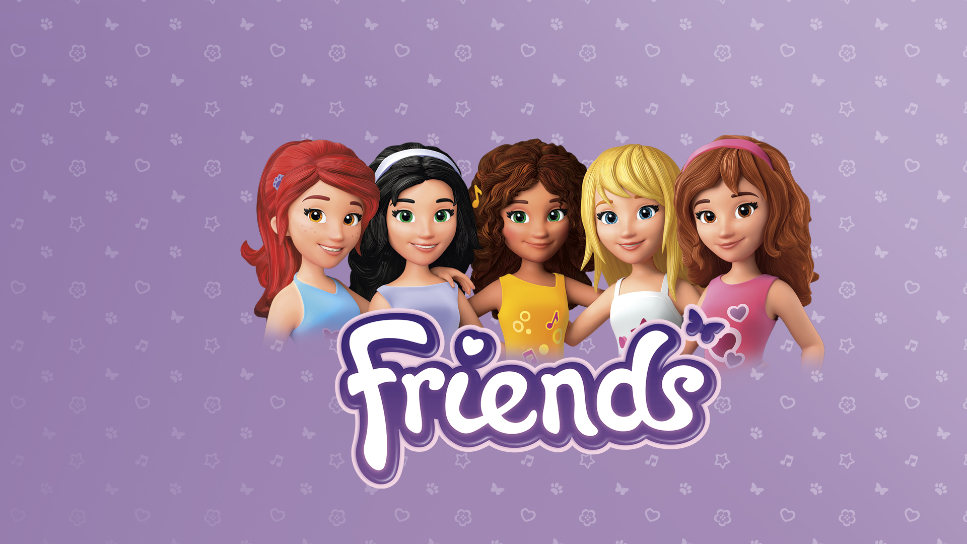LEGO Friends Ad Campaign Digital Advertising RED 1920x1080