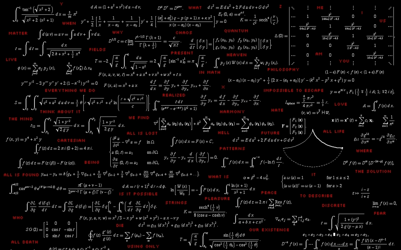 Download Mathematical Equations Hd Wallpaper Photo Wallpapers