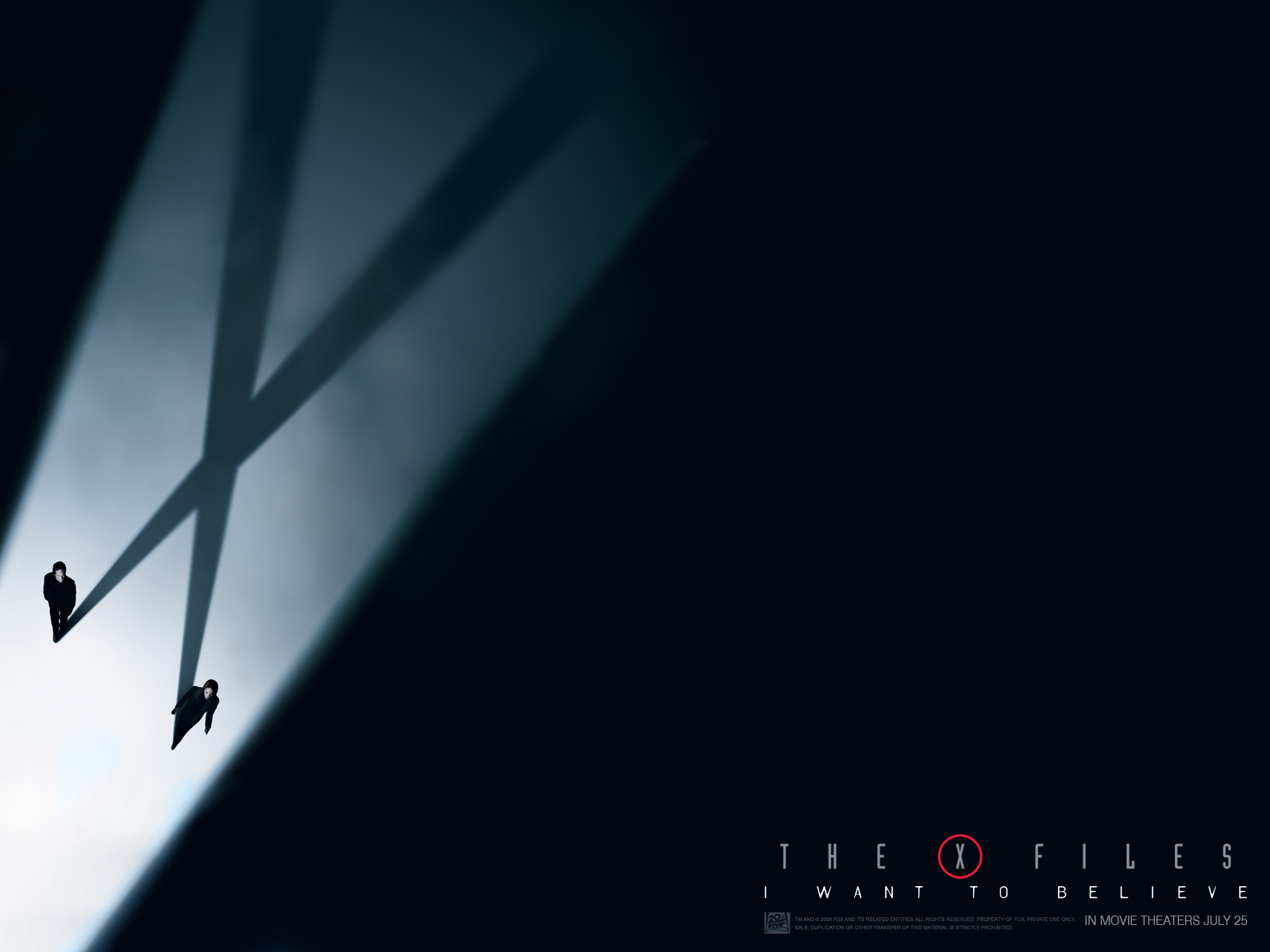 The X Files I Want to Believe Desktop Wallpapers for HD 1600x1200
