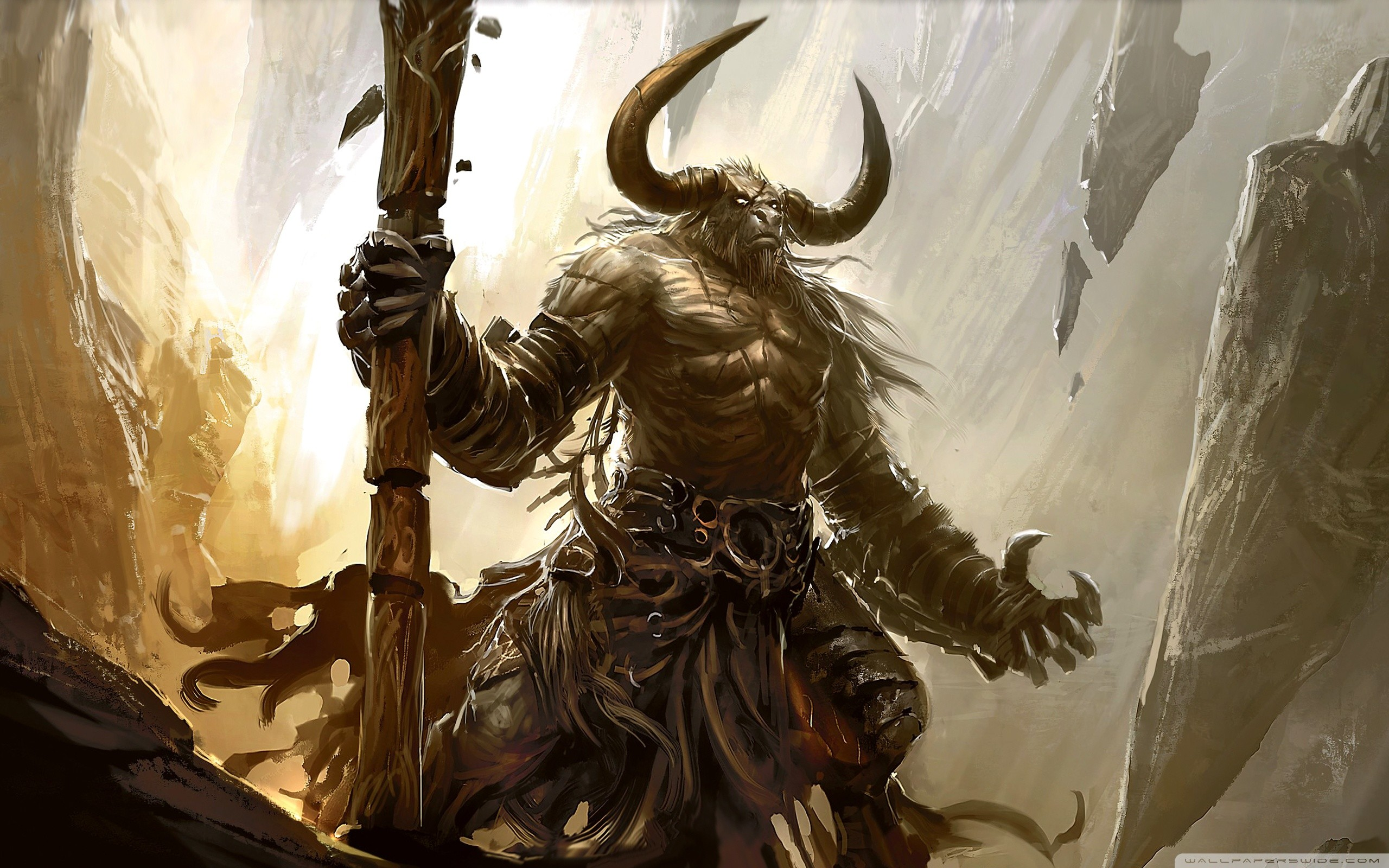 67 Minotaur Wallpapers on WallpaperPlay 2560x1600