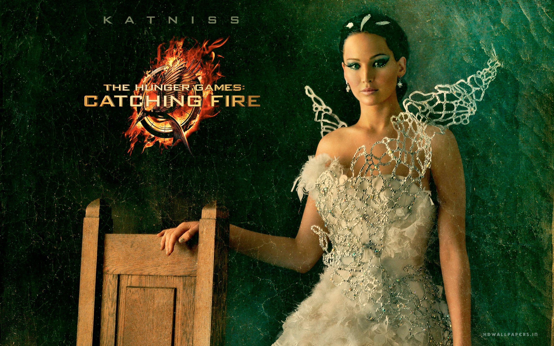 Hunger Games Computer Wallpaper Katniss Hunger Games Catching 2880x1800