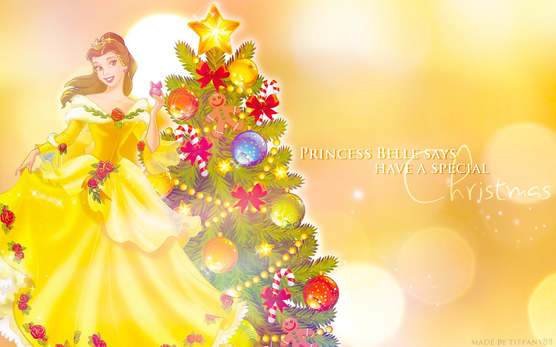 Disney Princess Christmas Wallpaper