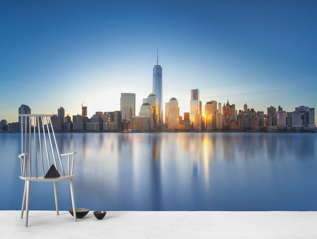 Buy New York City skyline wall mural   US shipping at 1044x789