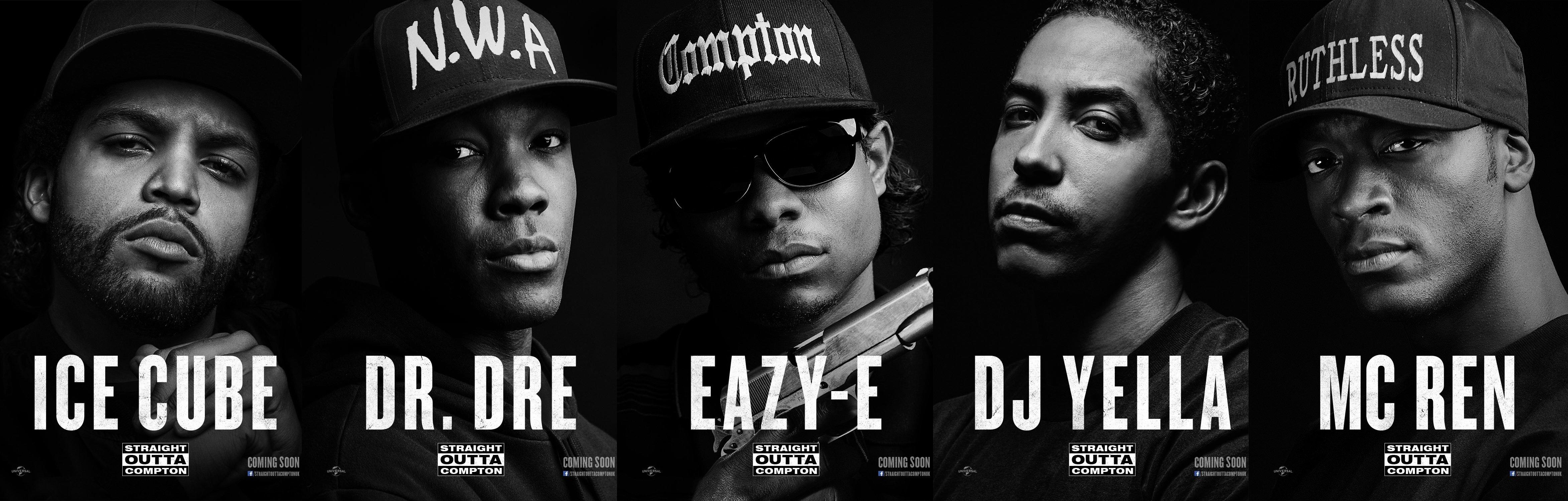 STRAIGHT OUTTA COMPTON rap rapper hip hop gangsta nwa 4692x1500