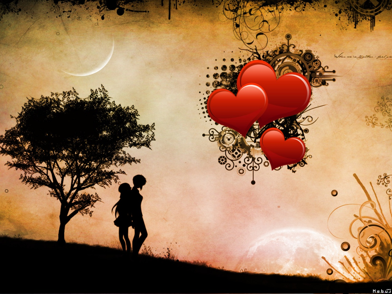 Free Download Hd Wallpapers Of Love 1280x960 For Your Desktop