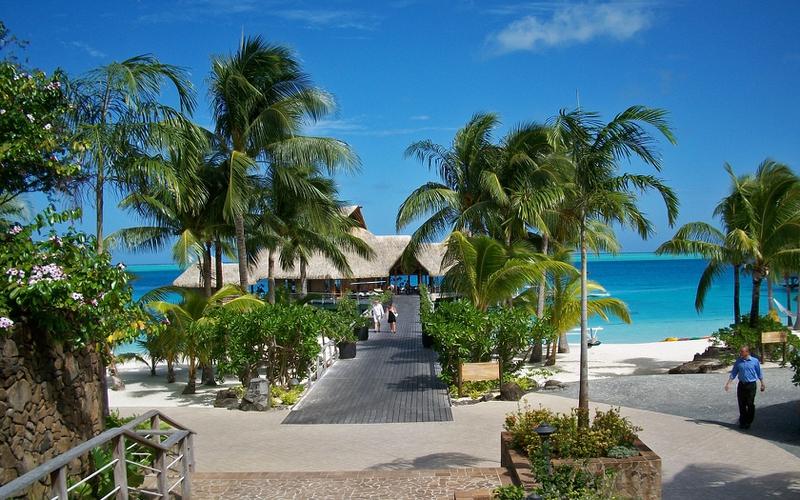 beach paradise Bora Bora Beach Resort Nature Beaches HD Wallpaper 800x500