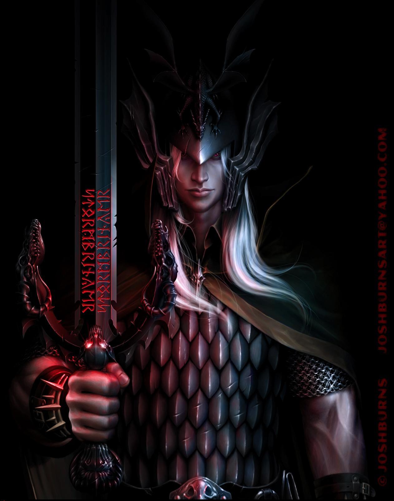 2D Graphics Elric of Melnibon   2D Digital Concept art Fantasy 1263x1605