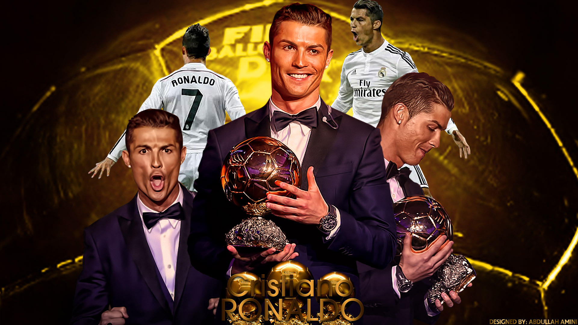 CR7 Wallpapers 1920x1080
