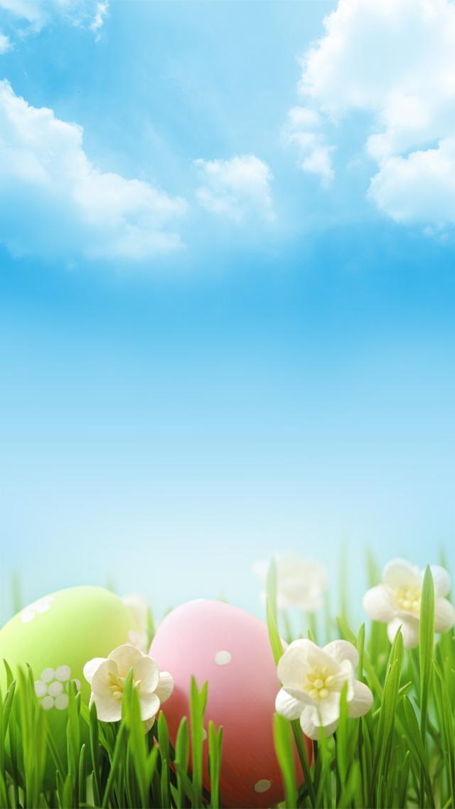 Easter Wallpaper by PimpYourScreen 640x1136