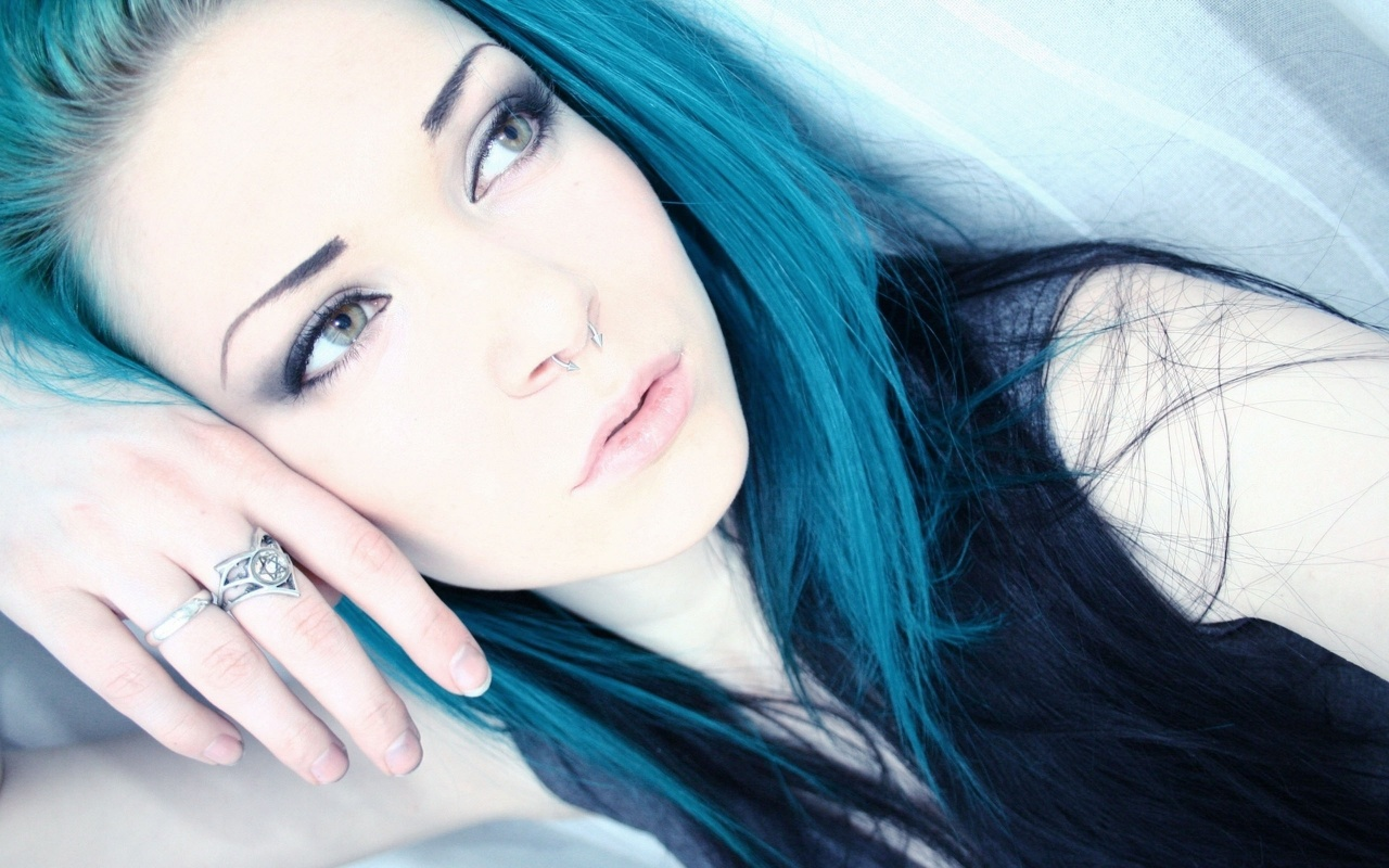 Emo Girls With Long Hair   HD Wallpapers Widescreen   1280x800 1280x800