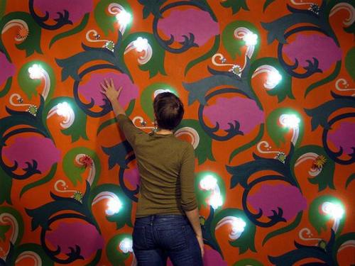 best wallpaper design   The new feature wall Wallpaper Design ideas 500x375