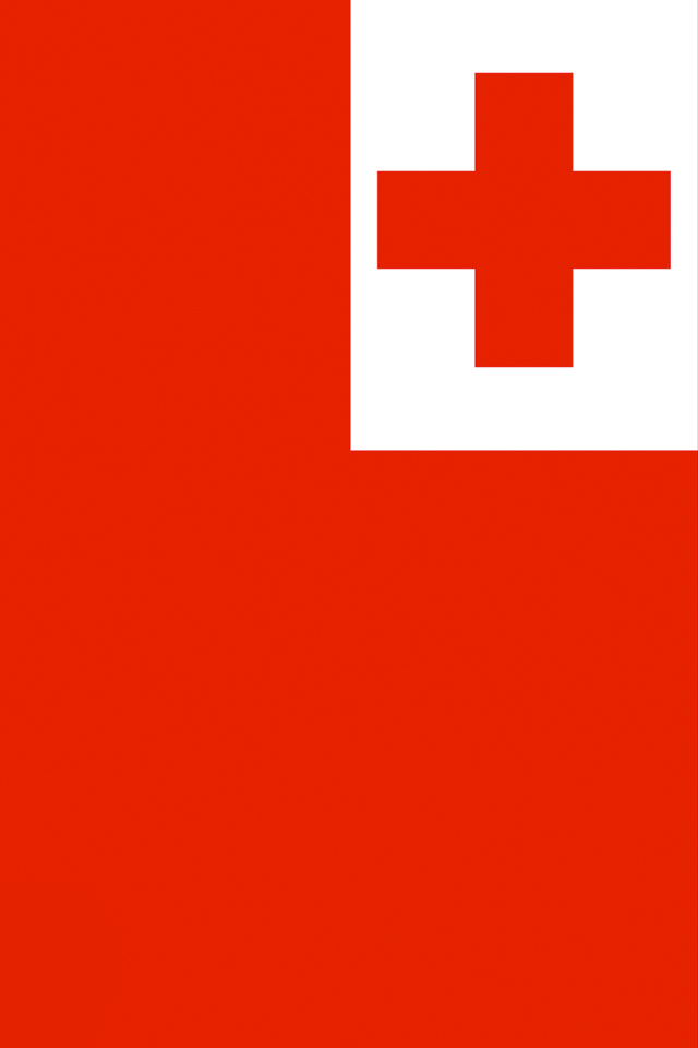 Tonga Flag iPhone Wallpaper HD 640x960