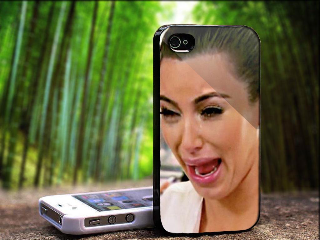 Kim kardashian crying wallpaper wallpapersafari - Ugly face wallpaper ...