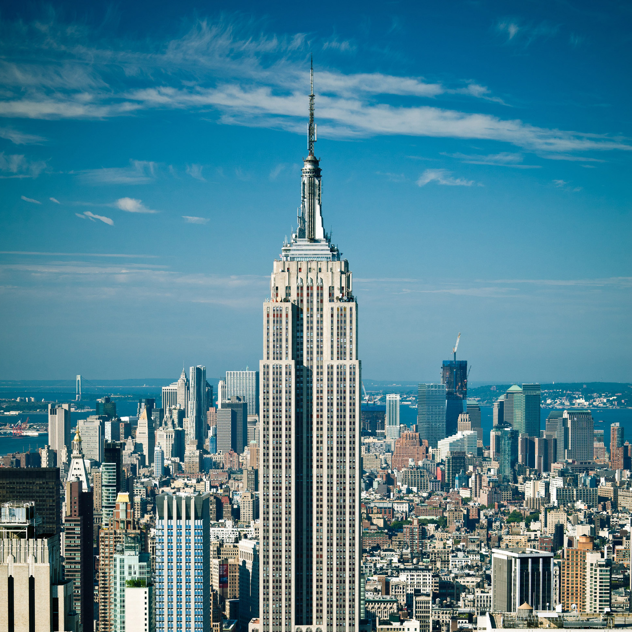 Empire State Building Dimensions Drawing   wallpaper 2048x2048