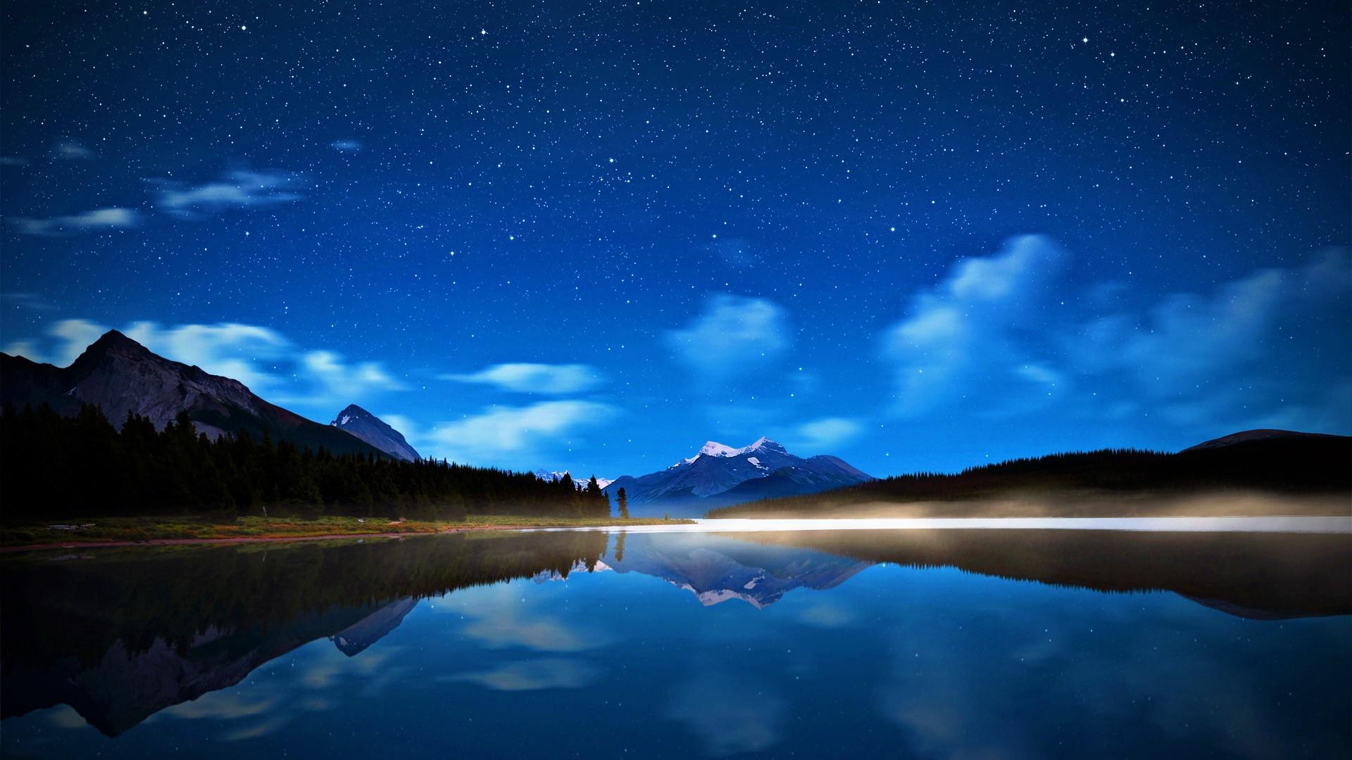 Night Sky High Resolution Backgrounds Widescreen Desktop 1920x1080