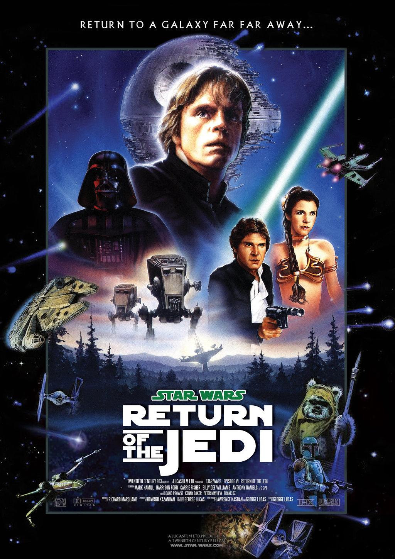 Star Wars VI Return of the Jedi   Movie Poster by nei1b on 1024x1448