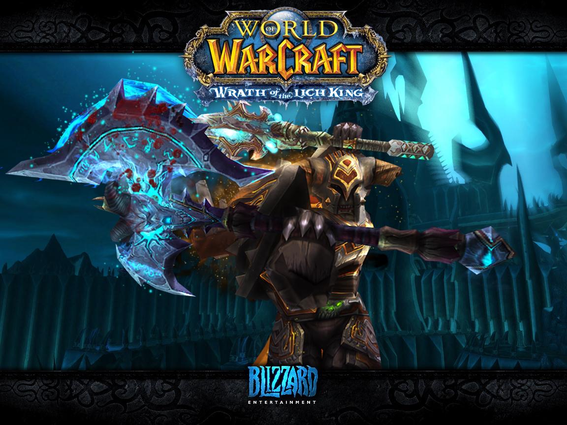 wow warrior wallpaper 1152x864