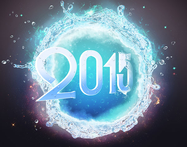 Happy New Year 2015 Wallpapers Images Facebook Cover photos 600x472