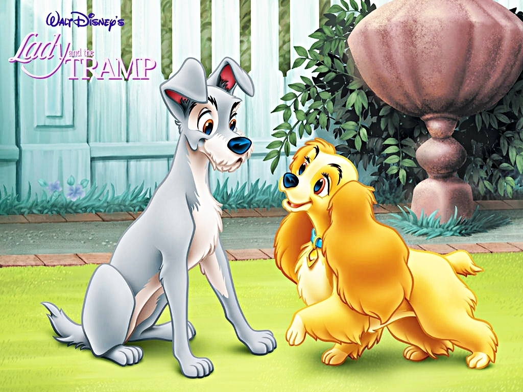 Walt Disney Characters Walt Disney Wallpapers   Lady and the Tramp 1024x768