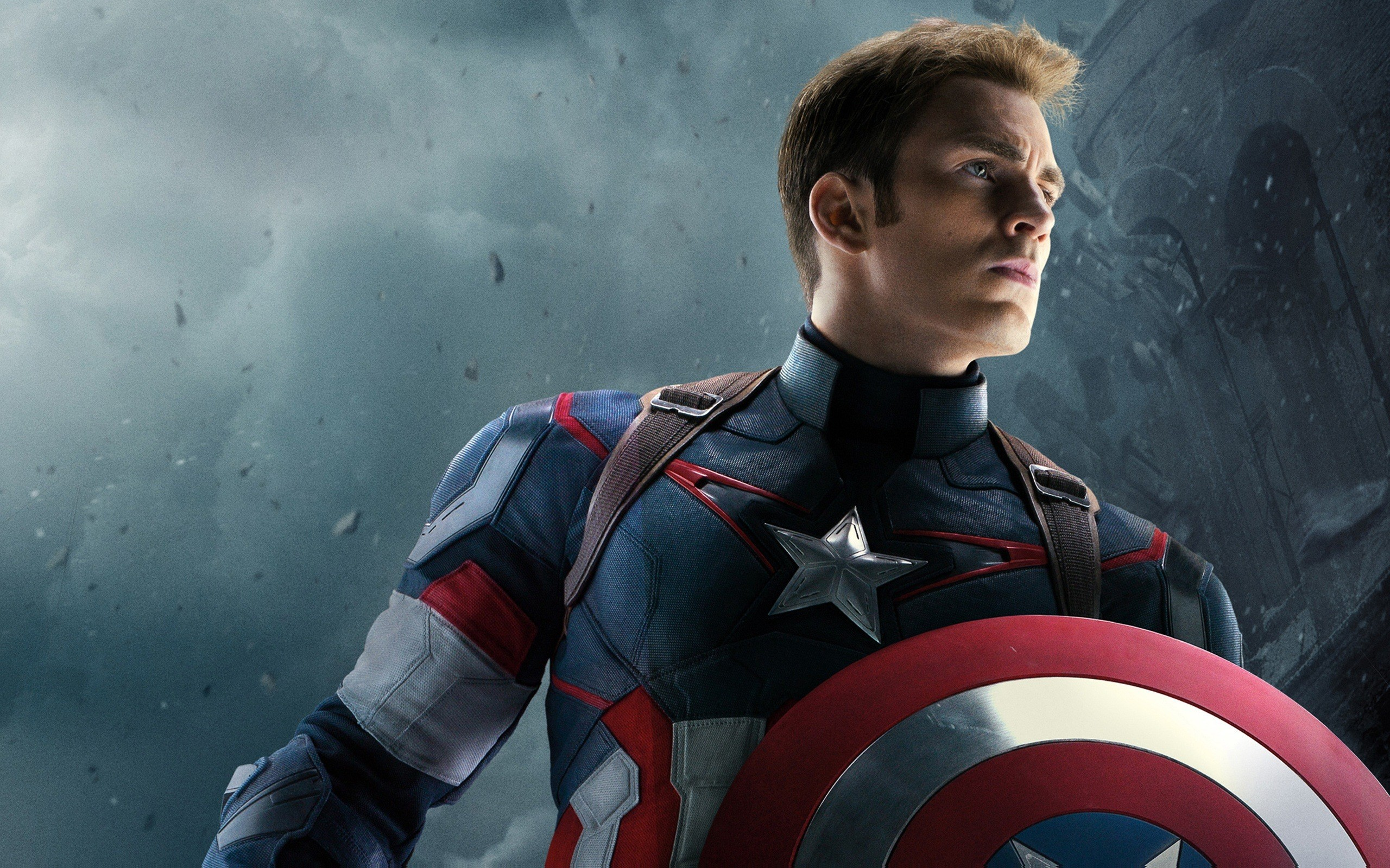 Captain America in Avengers Infinity War Wallpaper HD Wallpapers 2560x1600
