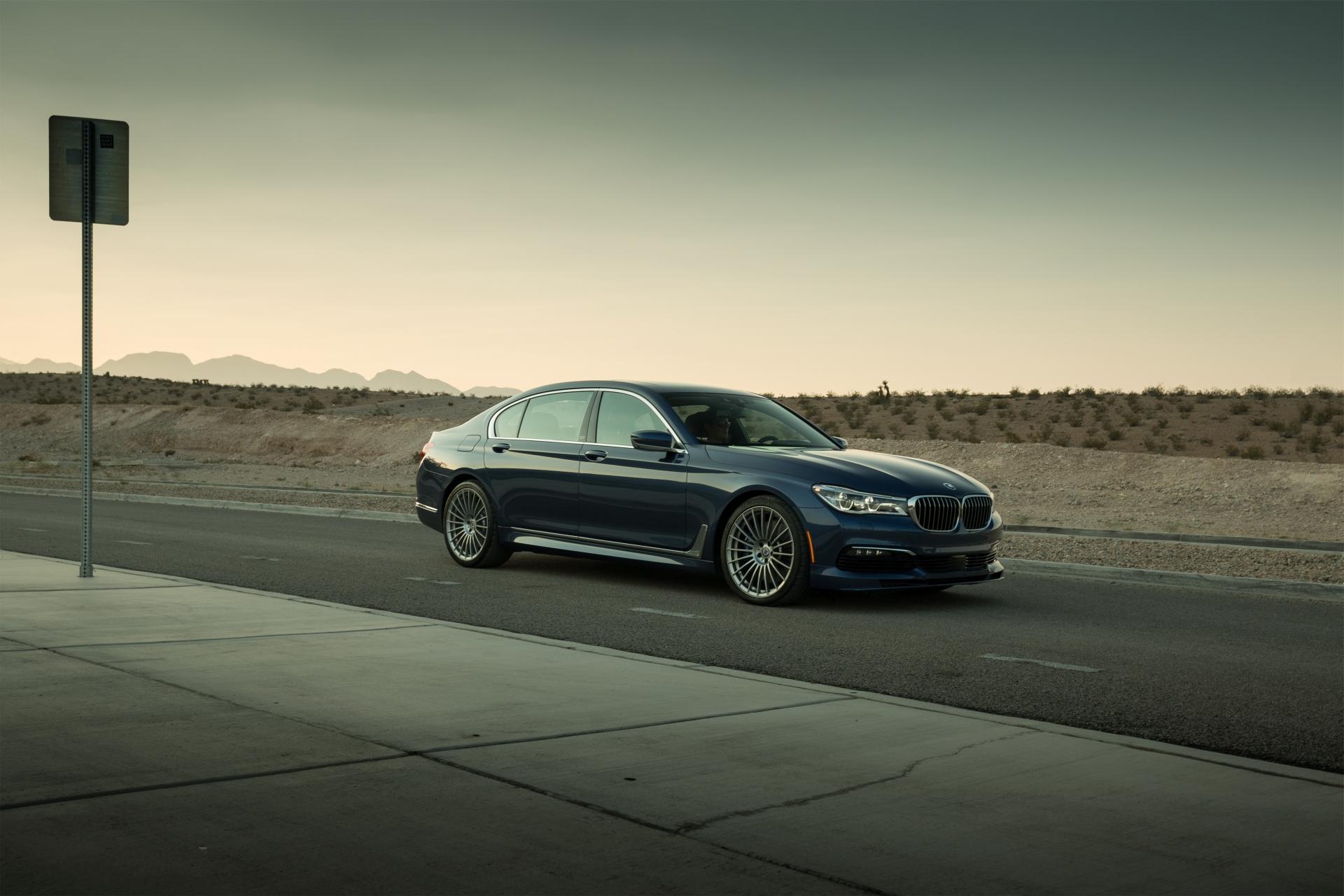 Wallpapers 2017 BMW Alpina B7 xDrive Stars in New Photoshoot 1920x1280