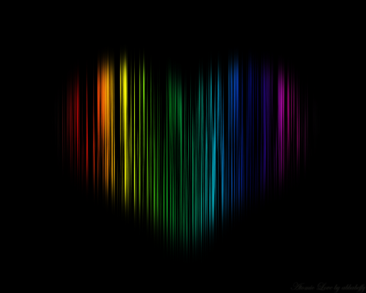 Atomic Colorful Love Wallpapers HD Wallpapers 1280x1024