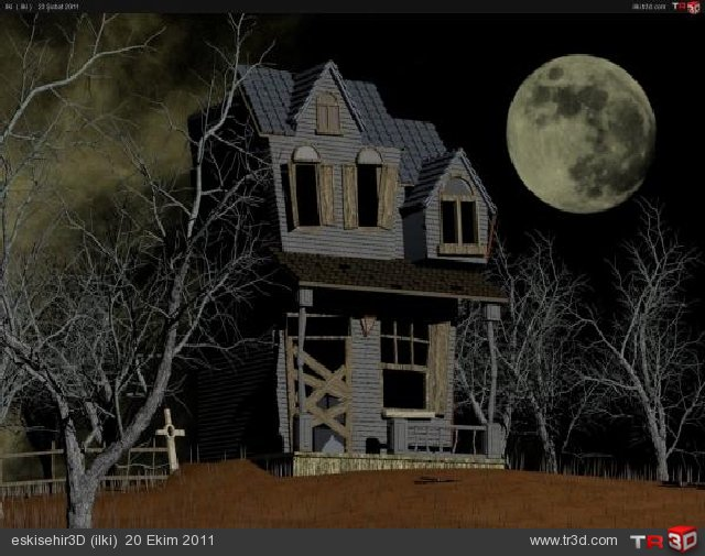 haunted house 640x505