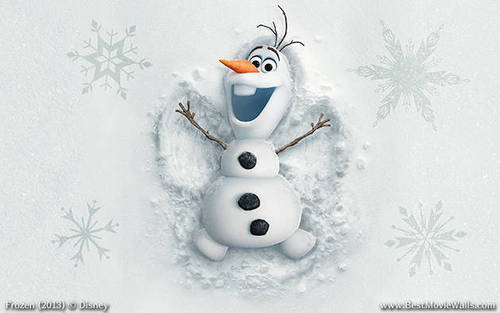 Olaf the Snowman Wallpaper images in the Frozen club tagged photo 500x313