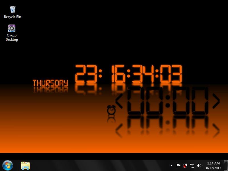 49+] Desktop Clock Wallpaper Free Download on WallpaperSafari