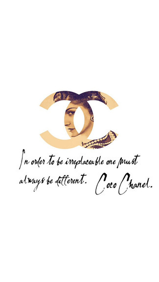 Coco Chanel iPhone Wallpaper 325x576