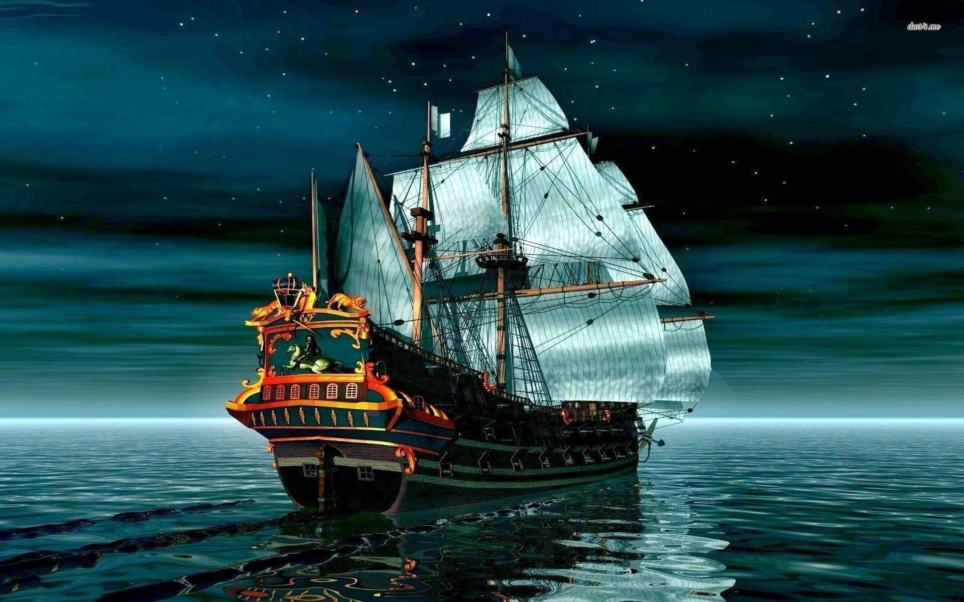 75 Pirate Ship Wallpapers on WallpaperPlay 1920x1200